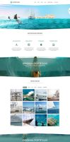 OceanPlaza WordPress Parallax Theme by DarkStaLkeRR