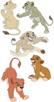Female cub adoptables -SOLD- by KashimusPrime