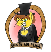 Sandy Whiplash by grilledcat