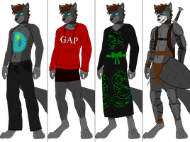 Outfit batch 4 by DexterTheFox