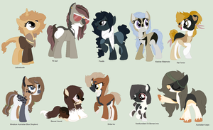 More Doge Themed Adopts (95% more females)CLOSED~~ by BluesStuff