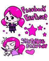 facebook fan page daily doodles by zambicandy