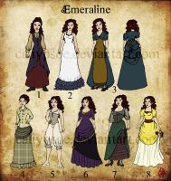 Emeraline - Designs by Caliypsoe