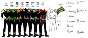 Imperial Uniforms (concept) by sciencebuttsandsouls