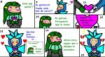 Snake y Gemini comic 2 by syani123