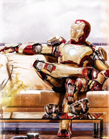 Iron Man by p1xer