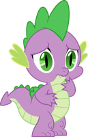 Spike Worried by Jeatz-Axl