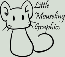 Little Mouseling Graphics Logo by TheMouseling