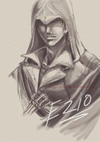 Ezio portrait by EriDaiho