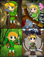 Chibi Link Collabs by FJLink