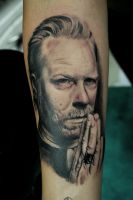 James Hetfield Tattoo by TatyZ