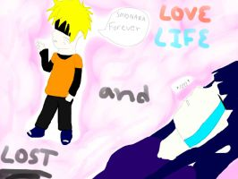 Love Life AndLost doujin cover by dxa18