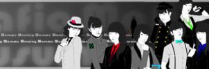 Mafia Musume Banner by superMARIAbros
