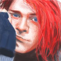 Kurt Cobain by henmy