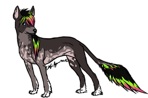 Chinese Crested Dog For quincysorcerymon13 by Esaki
