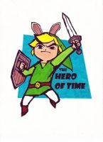 The Hero of Time by always1cardshort