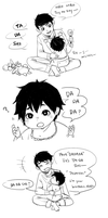 [BH6]Little Tadashi and Baby Hiro by CHAYI105
