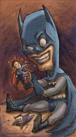 naughty naughty batman by zuckerglider