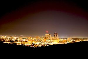 Tucson at Night by mammothhunter