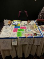 Midwest Furfest table display by Zelaphas