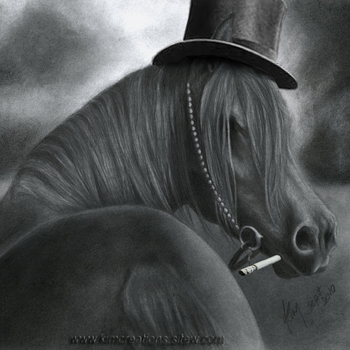 Bad Horse, based on a drawing by Kim1486 by Ferdrimmler