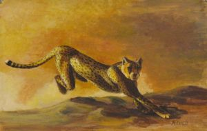 Running cheetah by Kivuli