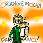 ORANGE MOCHA FRAPPUCCINO by eeee15