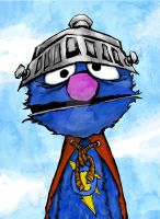 super grover by mjfletcher