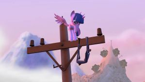 (Video) A Slender Spaps' Unusual Day by ThatGrayCartoonPony