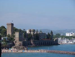 Castle on the sea - Two by Altair-E-Stock