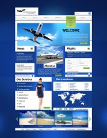 Airplane Website by Elad-M