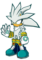 Sonic Battle Silver by ShockRabbit