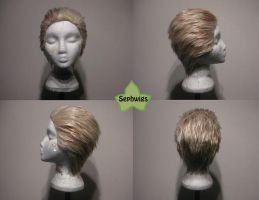 Wig Commission - Cid by kyos-girl