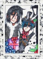 Black Butler Winter by KawaiiDarkAngel