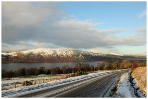 Winter's Heartland - Loch Ness by globalsinner