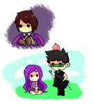 More Mianite chibi stuff by The-Earth-Mistress