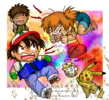 100. What If Ash and Misty Blasted Off Instead? by Hakui-Kitsune