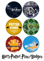 HP Buttons by Zivrezcara