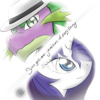 You got me jealous of everything by Rockarboom