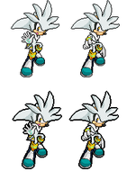 Silver sonic advance 3 by MagicalPouchOfMagic