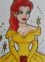 Jessica Dress Up 2: Princess Belle by LadyNin-Chan