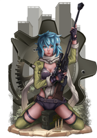 Sinon by bear-witch