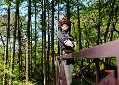 P.S.OFF in deep forest on May,2016/  2 by chocolate-array