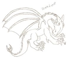 scared yet? a dragon picture by nikkihog