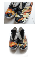 arcanine shoes by Ryushay