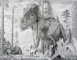 Gorgosaurus. by Frank-Lode