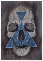 Blue Triangle of Death by monkeydeathcult