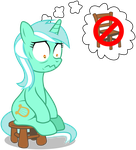 No Chairs For Lyra by masemj