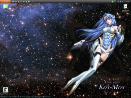 My desktop at 1:39 AM by SOMSOKsole-T