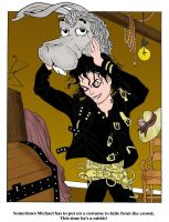Moonwalker Coloring page Two by LaMoonstar
